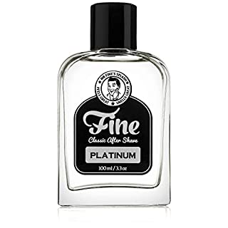 Fine Accoutrements Fine Aftershave Platinum, 100 ml