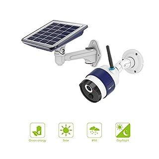 FREECAM Outdoor Solar Kamera Wireless WiFi Home Security Kamera mit Akku PIR Bewegungsmelder Aufladen und Nachtsicht für Smart Home
