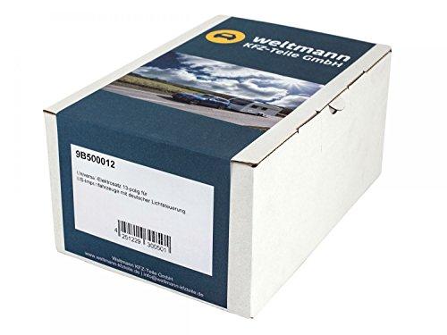 Weltmann 9B500012 Universal Elektrosatz für US Importfahrzeuge mit Deutscher Lichtsteuerung Ford, Dodge, GMC, etc. (Gmc Teile)