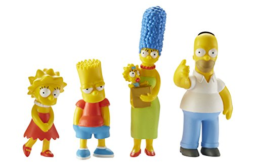 Los Simpsons Familia - Figuras 4p Pack - Homer, Marge, Bart y Lisa [DVD] 3