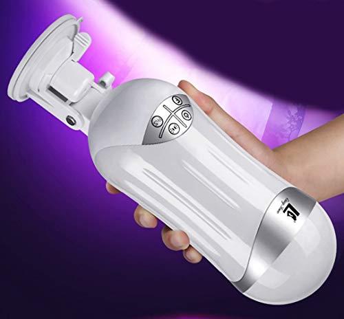 Preisvergleich Produktbild Missgama Männliche Mâstûrbâtör Cup Mâstûrbâtîön für Männer - Superstarke Leistung Saugen Sie vibrierenden Oralschub - 3D realistische Silikon-Ausdauer-Verbesserungs-Trainings-T-Shirt