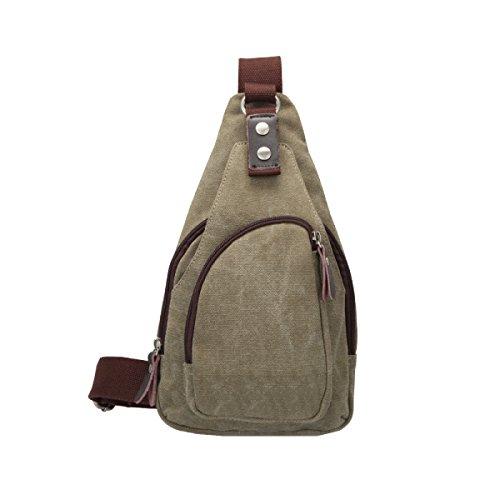 Yy.f Neue Segeltuchbeutel-Kastenbeutel Beiläufige Handtasche Kurierbeutel-männliches Paket Normallack-Tendenzpaar-Mann-Schulterbeutel Mehrfarbig Beige