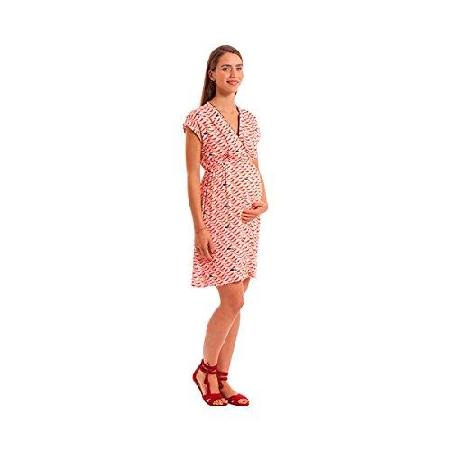 POMKIN La robe de grossesse et d'allaitement robe de grossesse robe de grossesse Multicolore