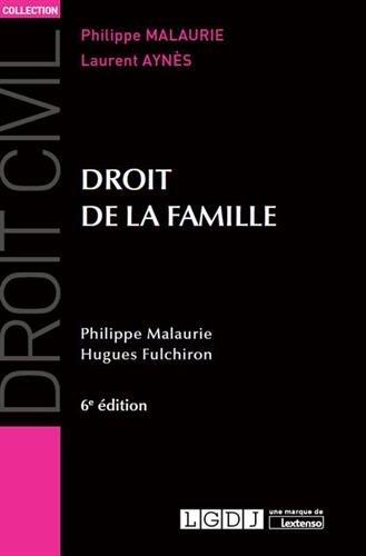 Droit de la famille par Philippe Malaurie