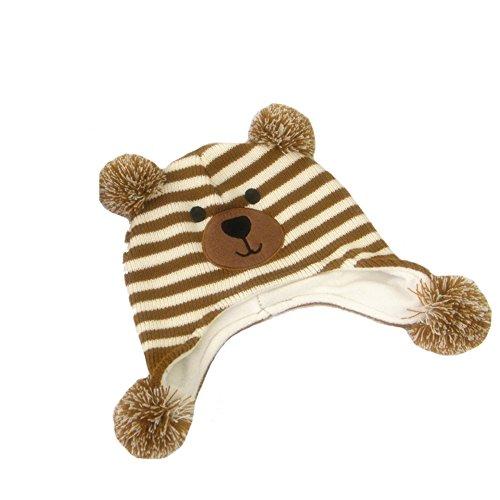 bd525005602 Aiklin Boys Winter Hats Toddler Animal Beanie Warm Caps (Bear) - Buy Online  in Oman.