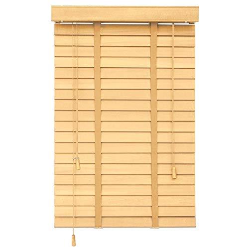 Caijun tende alla veneziana tende a pacchetto legno massiccio personalizzabile protezione della privacy 80 cm / 100 cm / 120 cm di larghezza tenda a rullo (color : a, size : 140x230cm)