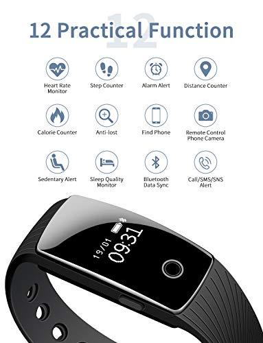Zoom IMG-1 mpow smart braccialetto fitness tracker