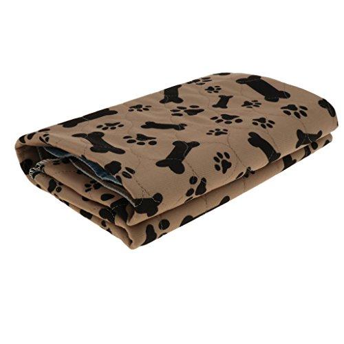 Baoblaze Saugfähige Trainingsunterlagen wasserdicht Welpenunterlagen Haustier Trainingspads für Tiere bei Inkontinenz, geeignet auch für Hunde Welpen Stubenrein Training - Typ 4 - L