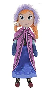Disney Oficial Frozen 26cm (10 pulgadas) Anna suave felpa muñeca de trapo en caja de regalo por Posh Paws