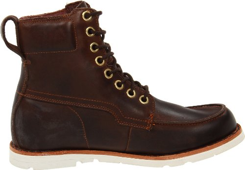 Timberland, Ek Ruglt Wp Mtb Dk B Dark Brown, Stivali, Uomo Burnished Dark Brown Smooth