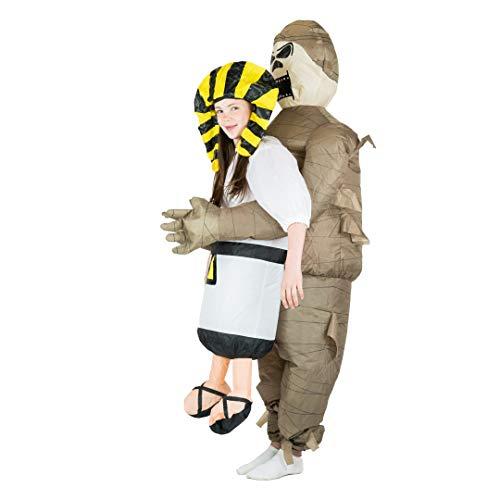 Bodysocks® Aufblasbares Mumie Kostüm für Kinder