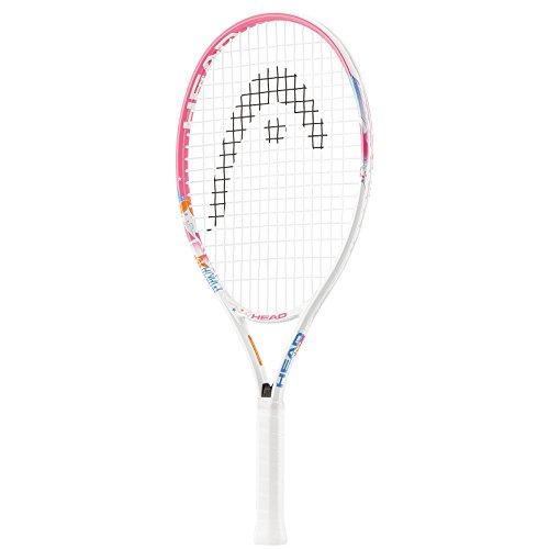 Head Maria 23 Raqueta de Tenis, Unisex niños, Blanco/Rosa, S06