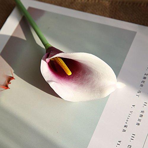 MDenker Kunstblumen & -Pflanzen,Hochzeit Kunstblumen, Fake Silk Party Strauß Zuhause Dekor,Kunstpflanze Pretty Artificial Silk Fake Flowers Leaf Floral Wedding Decor Rose Unechte Blumen
