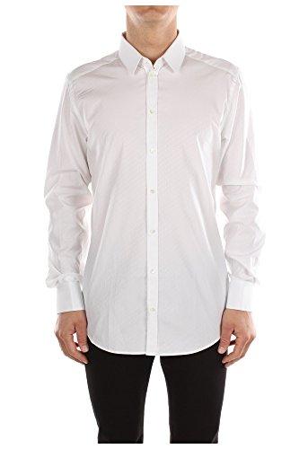 G5BN6TFJ5DLS8350 Dolce&Gabbana Camicie Uomo Cotone Bianco Bianco