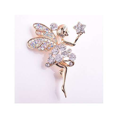 winter-secret-de-portee-pour-etoile-lovely-angle-fille-broche-diamant-accentuee-accessoire-de-mode
