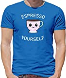 Best Starbucks Café machines espressos - Espresso Yourself - Homme T-Shirt - Bleu Royale Review