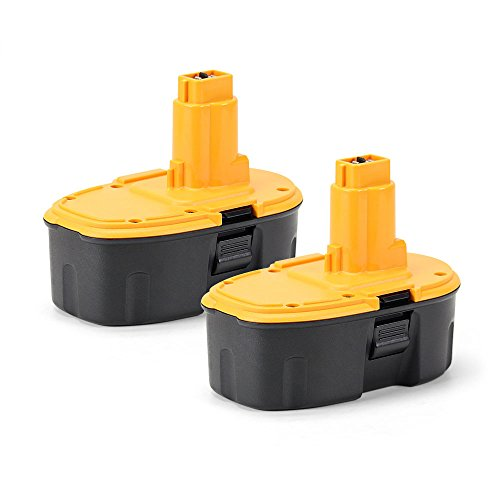 2PCS POWERGIANT 18V 3.0Ah Power Tools Battery for Dewalt XRP DC9096 DE9098 DC725 DE9096 DE9039 DE9095 DE9503 DW9095 DW9096 DW9098