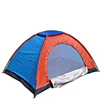 Zeom Camping Tent 2 Person(SR32) Tent - for 2 Person(Multicolor)