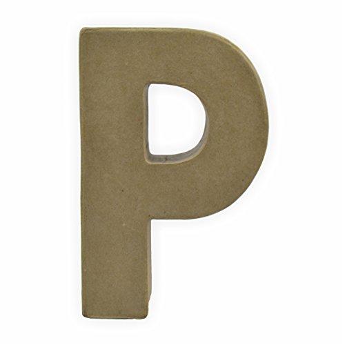 Creleo 791278cartón Letra P, 17.5x 5.5cm