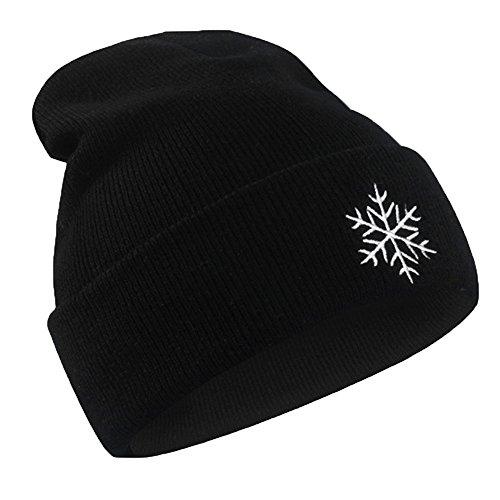 Celucke Beanie Herren Outdoor Lingge Hip Hop Gestrickte Mützen Trend Hüte, Hedging Kopf Mütze Warm Mode Hut