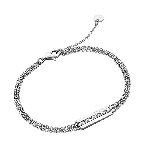 Esprit Damen-Gliederarmbänder Edelstahl ESBR00182118