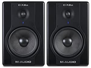 M-Audio Studiophile BX8a Deluxe Active Monitors