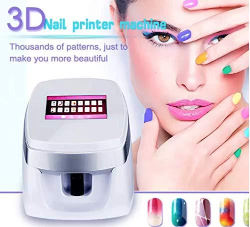 Impresoras de uñas 3D portátiles, automáticas, móviles, inalámbricas, digitales, para todo tipo de uñas
