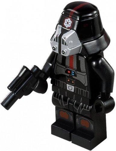 LEGO Star Wars Figur Sith Trooper aus 9500 (Lego Wars Star 75002)