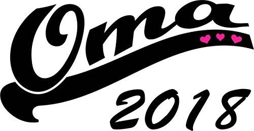 Mister Merchandise Herren Men V-Ausschnitt T-Shirt Oma 2018 Tee Shirt Neck bedruckt Navy