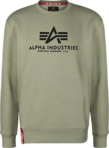 Alpha Industries Basic Sweatshirt Oliv XL
