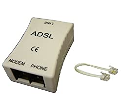 ADSL Internet Phone Filter Splitter Broadband Modem Box (TLSL-022A ADSL)