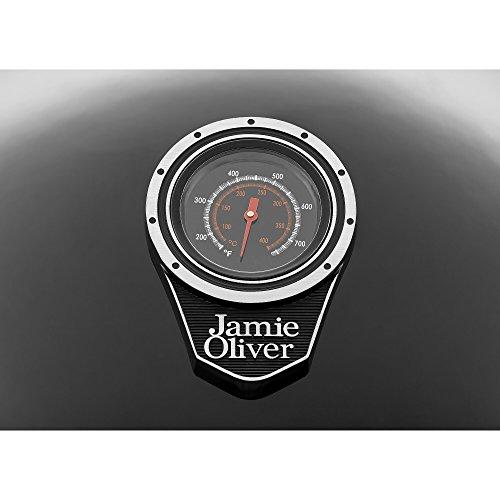 41%2BJEJ6kMBL. SS500  - Jamie Oliver - All rounder charcoal BBQ / grill - black