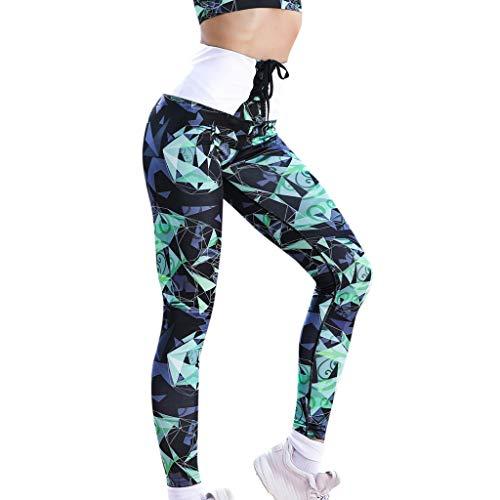Workout Sport Yogahose,Resplend Damen Geometrisches Wing Print Legging  Laufhose Bandage Kordelzug Sporthose Fitnesshose Schnürung Elastische  Sweathose Yoga ... f68b881381