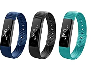 Omni Veryfit- ID115 Bluetooth Smart Band and Fitness Tracker Compatible with All Mobile Devices