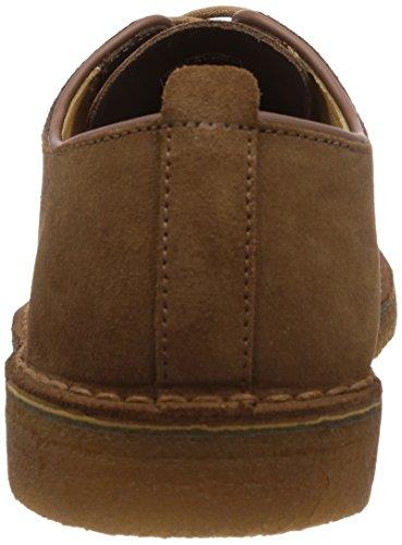 Clarks Originals London Herren Desert Boots Braun (Cola Suede)