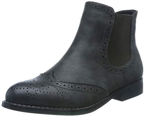 Rieker Damen 98791 Chelsea Boots, Grau (Basalt 45), 41 EU