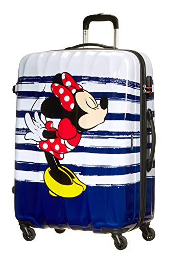 American Tourister Disney Legends - Spinner 75 Alfatwist 4,30 kg Bagaglio a Mano per bambini, cm, 88 liters, Multicolore (Minnie Kiss)