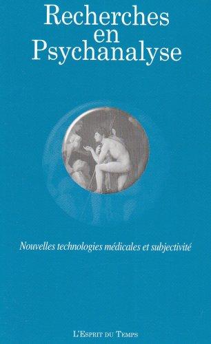 Nouvelles technologies médicales et subjectivité par Collectif