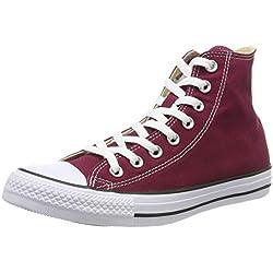 Converse Chuck Taylor All Star Hi, Zapatillas Altas Unisex adulto, Rojo (Maroon), 40 EU
