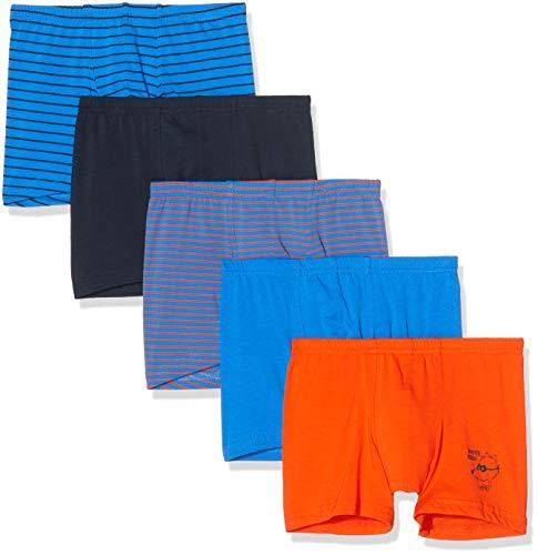 Schiesser Jungen Multipack Boys World 5Pack Shorts Boxershorts, Mehrfarbig (Sortiert 901), 98 (5er Pack)