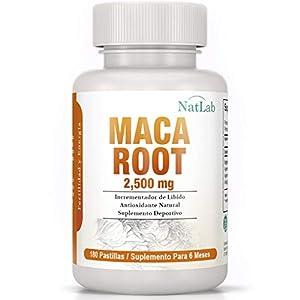 natural salud y belleza: Maca Andina | 2500 Mg - 180 Pastillas, Suministro Para 6 Meses | Promueve La Fer...