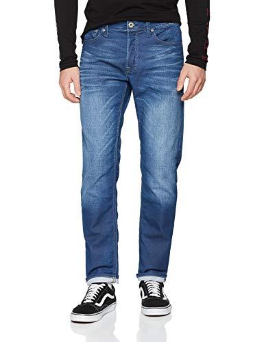 Comfort Fit Herren Jeans (Jack & Jones NOS Herren Loose Fit Jeans JJIMIKE JJORIGINAL JOS 497 I.K NOOS, Blau (Blue Denim), W34/L34 (Herstellergröße: 34))
