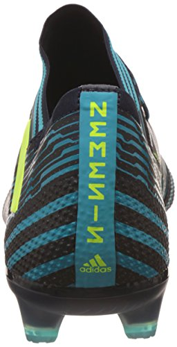 adidas Herren NEMEZIZ 17.1 FG Fußballschuhe, Weiß/Schwarz, 43 1/3 EU Mehrfarbig (Mehrfarbig - (Tinley/Amasol/Azuene))