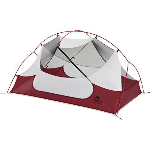 MSR Hubba Hubba NX - ultraleichtes Zelt für zwei Personen, nur 1,9 kg - Farbe: hellgrau