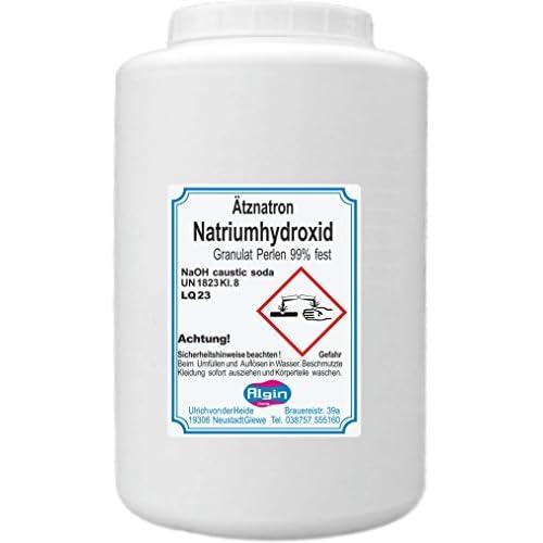 Tznatron Natriumhydroxid Naoh 1kg Dose