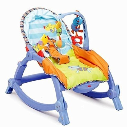 RIANZ All New Imported Newborn to Toddler Rocker for Newborn - Infant - Toddler