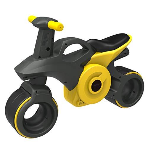 Nessun pedale Auto Equilibrio Bambini 1-3 Anni Pneumatici Auto Giocattolo for Bambini Muto Interno Antiscivolo Esterno Stabile Walker Regalo di Vacanz