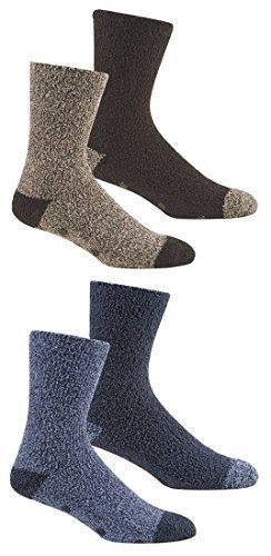 Herren 4 paare Weich Lounge-socken mit Gripper Sohle / Hausschuhsocken (Gripper Socken)
