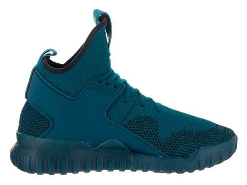Adidas Tubular X Pk Hommes Synthétique Baskets Tecste-Tecste-Black