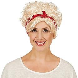 dressforfun Rockabilly para mujer, con cinta para el pelo roja